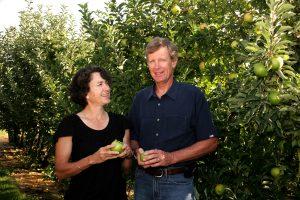 Louisa and Neal Carter. Image courtesy of Okanagan Specialty Fruits