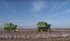Sick Texas cotton grower gets some neighborly harvest help