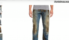 Nordstrom $425 dirty jeans insult to dirty job workers