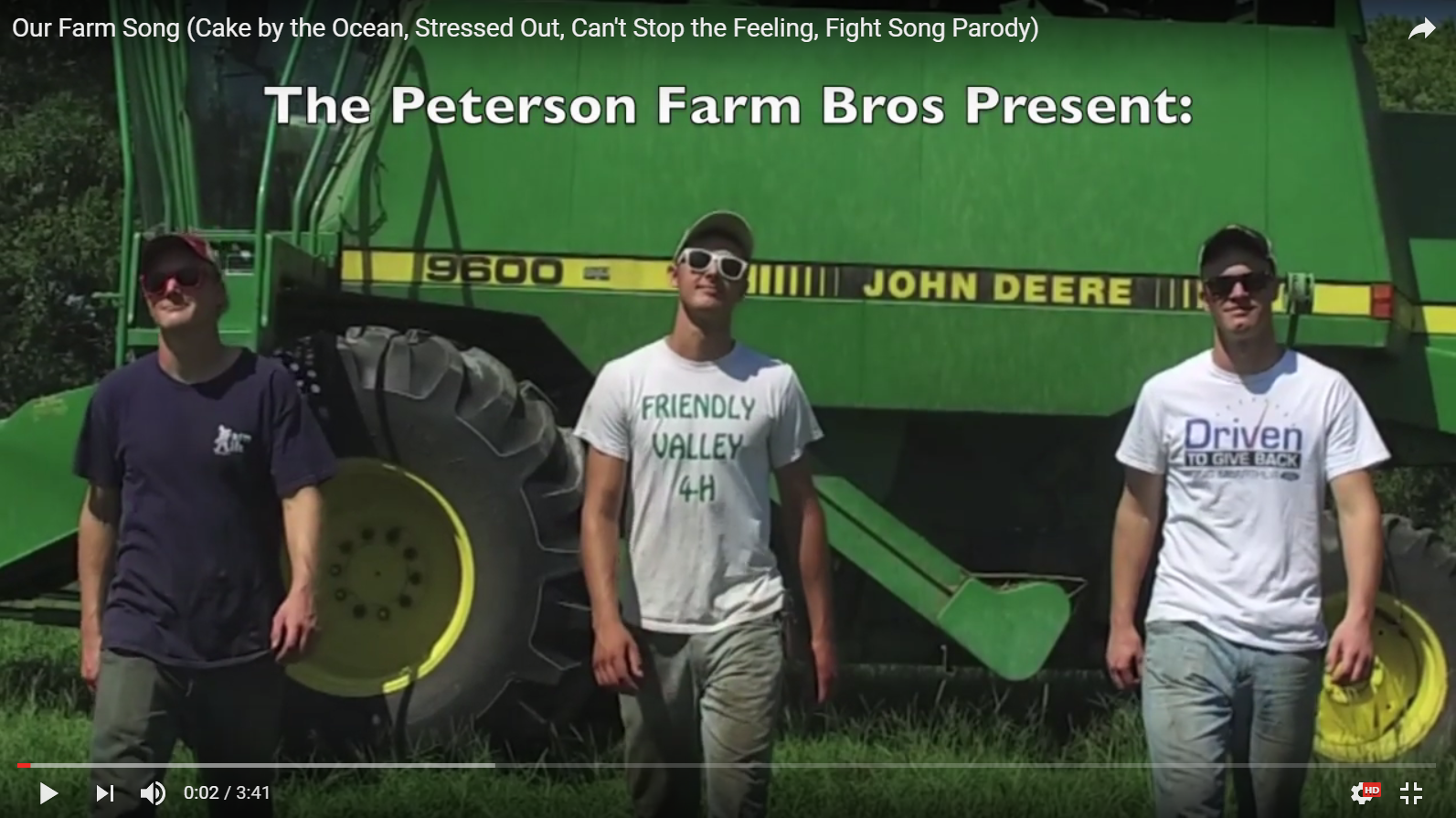 petersons farm song