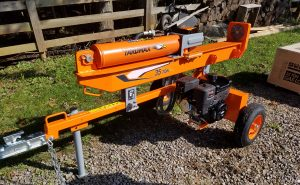 A second-look review: YARDMAX log splitter | AGDAILY