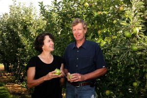 Louisa and Neal Carter. Image courtesy of Okanagan Specialty Fruits