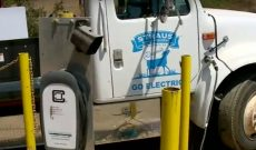 California dairy drives 1st electric feed truck, powered by poop