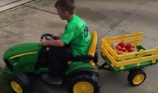 West Virginia 6-year-old opens own farmer's market