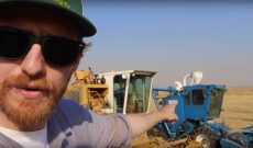 Rice Farming TV shows you the cutest little harvester you've ever seen