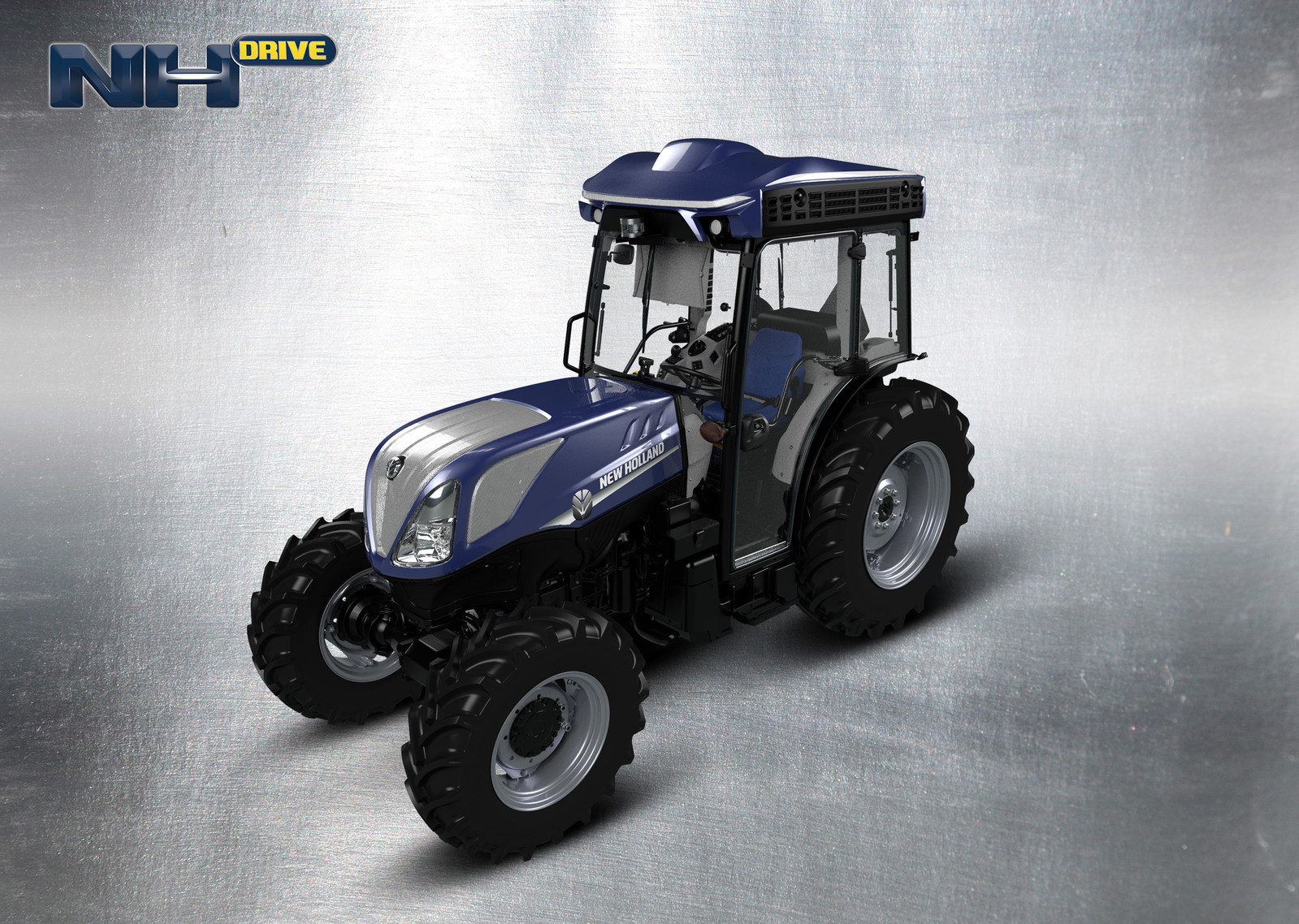 new holland tests out autonomous tractor in vineyard agdaily. Black Bedroom Furniture Sets. Home Design Ideas
