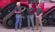 Jay Leno test drives Case IH Quadtrac tractor