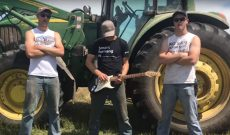 Peterson Farm Bros. parody 'Thunderstruck' with 'Tractorstuck'