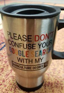 agriculture degree mug