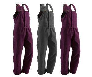 berne women's overalls
