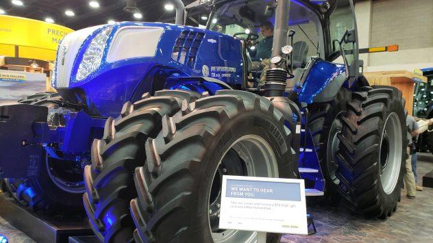 GENESIS T8 Series tractor