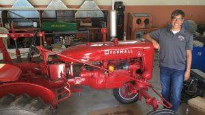 titan tractor restoration