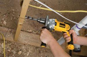 DEWALT VSR Pistol Grip Corded Electric Drill
