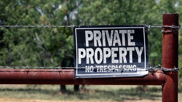 farm trespassing