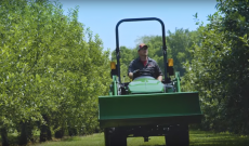 A young orchard farmer — his story and his John Deere CUT machines